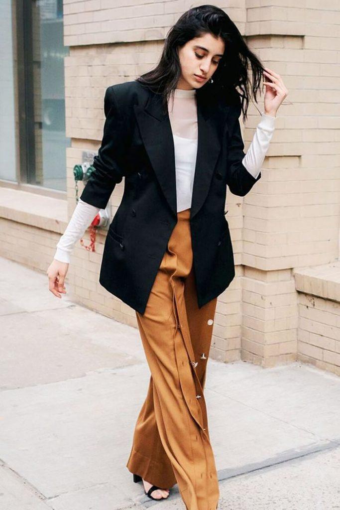 camel-wideleg-pants-white-top-sheer-black-jacket-blazer-brun-black-shoe-sandalh-fall-winter-lunch.jpg