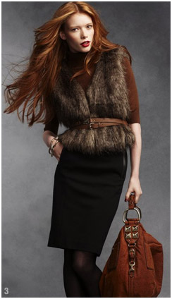black-pencil-skirt-brown-sweater-cognac-bag-hobo-black-tights-howtowear-fashion-style-outfit-fall-winter-brown-vest-fur-belt-turtleneck-hairr-work.jpg