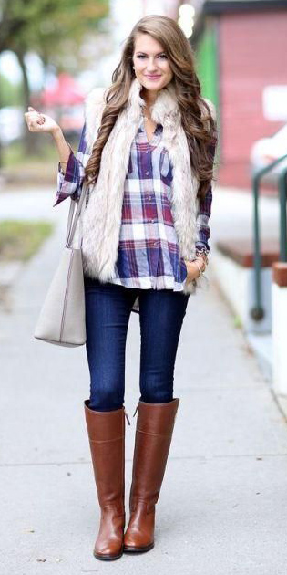 blue-navy-skinny-jeans-purple-royal-white-vest-fur-white-bag-howtowear-fashion-style-outfit-fall-winter-cognac-shoe-boots-hairr-weekend.jpg