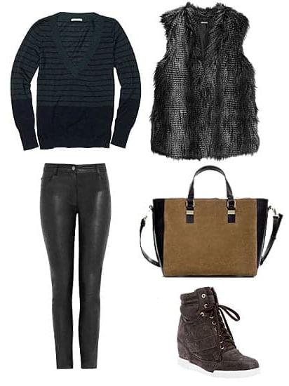 black-skinny-jeans-black-sweater-howtowear-fashion-style-outfit-fall-winter-basic-leather-black-vest-fur-tan-bag-wedge-black-shoe-sneakers-weekend.jpg