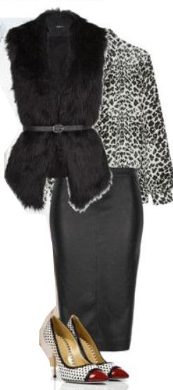 black-pencil-skirt-black-top-blouse-leopard-print-black-vest-fur-white-shoe-pumps-howtowear-fashion-style-outfit-fall-winter-skinny-belt-dinner.jpg