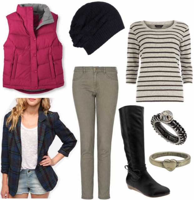 grayl-skinny-jeans-grayl-sweater-stripe-r-pink-magenta-vest-puffer-howtowear-fashion-style-outfit-fall-winter-beanie-black-shoe-boots-ring-layervestover-blue-navy-jacket-blazer-casual-weekend.jpg