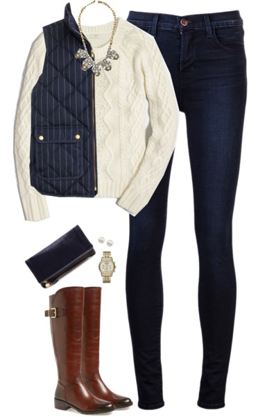 blue-navy-skinny-jeans-white-sweater-bib-necklace-blue-navy-vest-puffer-cognac-shoe-boots-watch-fall-winter-lunch.jpg