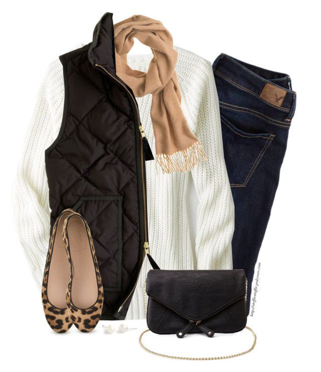 blue-navy-skinny-jeans-white-sweater-tan-scarf-black-vest-puffer-tan-shoe-flats-leopard-black-bag-howtowear-fashion-style-outfit-fall-winter-weekend.jpg