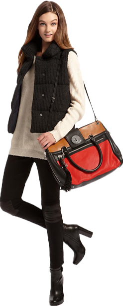 black-leggings-white-sweater-black-vest-puffer-black-shoe-booties-red-bag-fall-winter-tunic-hairr-weekend.jpg