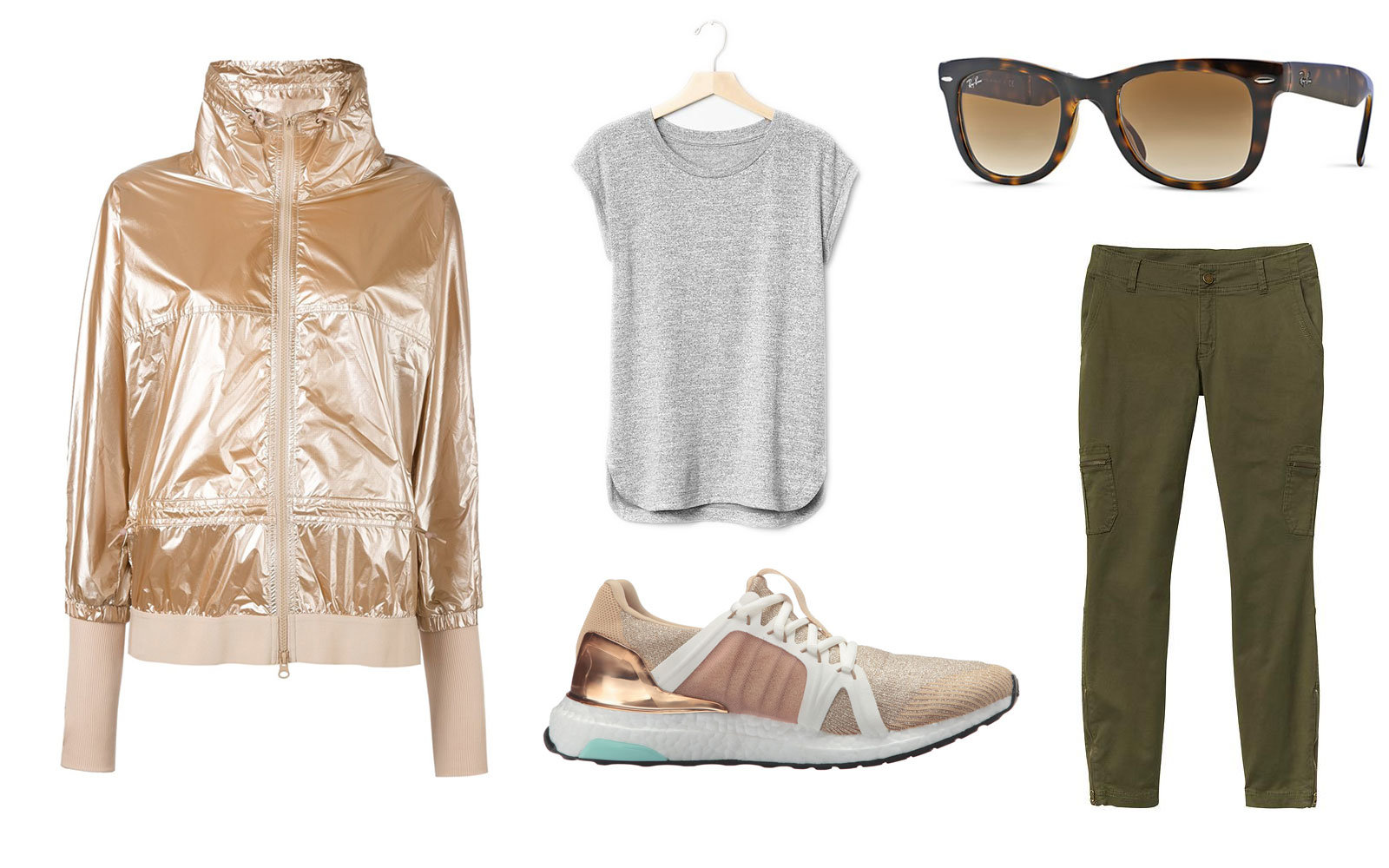 green-olive-skinny-jeans-tan-jacket-bomber-gold-metallic-grayl-tee-tan-shoe-sneakers-sun-fall-winter-weekend.jpg