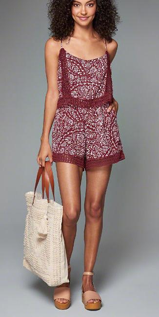 burgundy-jumper-romper-print-tan-shoe-sandalw-white-bag-spring-summer-weekend.jpg
