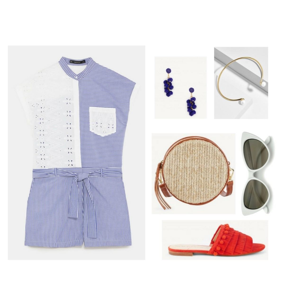 blue-med-jumper-romper-red-shoe-sandals-cognac-bag-blue-earrings-sun-spring-summer-weekend.jpg