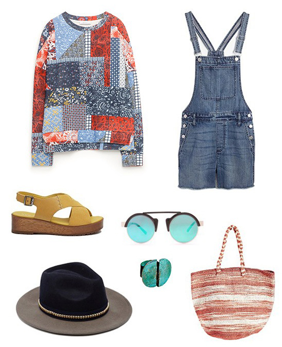 blue-med-jumper-blue-med-sweater-quilt-yellow-shoe-sandalw-hat-sun-turquoise-ring-red-bag-tote-howtowear-fashionstyle-oufit-spring-summer-denim-overalls-weekend.jpg