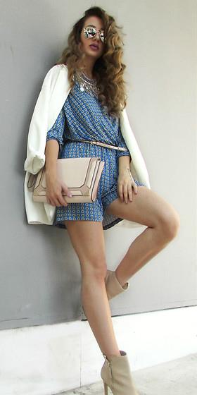 blue-med-jumper-romper-skinny-belt-tan-bag-tan-shoe-booties-hairr-sun-white-jacket-blazer-fall-winter-lunch.jpg