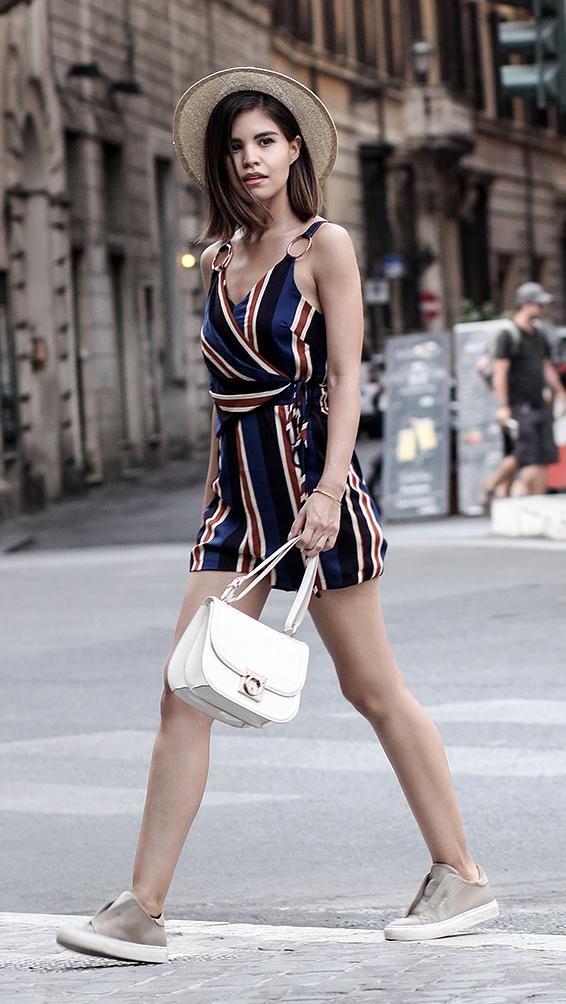 blue-navy-jumper-romper-stripe-print-white-bag-tan-shoe-sneakers-hat-brun-italy-rome-italy-rome-travel-weekend.jpg
