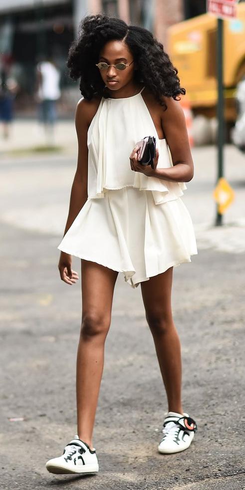 white-jumper-romper-white-shoe-sneakers-sun-brun-flouncy-spring-summer-lunch.jpg