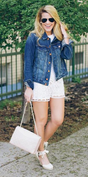 white-jumper-romper-blue-med-jacket-jean-white-bag-blonde-sun-white-shoe-sandalw-spring-summer-weekend.jpg