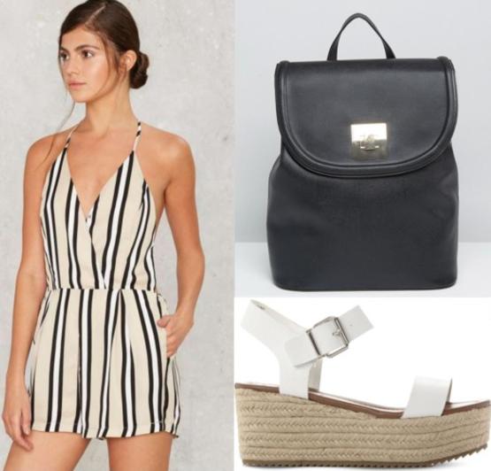 white-jumper-stripe-white-shoe-sandalw-black-bag-pack-howtowear-fashion-style-outfit-spring-summer-romper-wedge-weekend.jpg