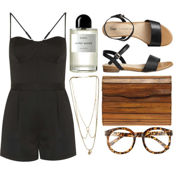 black-jumper-romper-necklace-cognac-bag-clutch-wood-black-shoe-sandals-howtowear-fashion-style-spring-summer-outfit-weekend.jpg