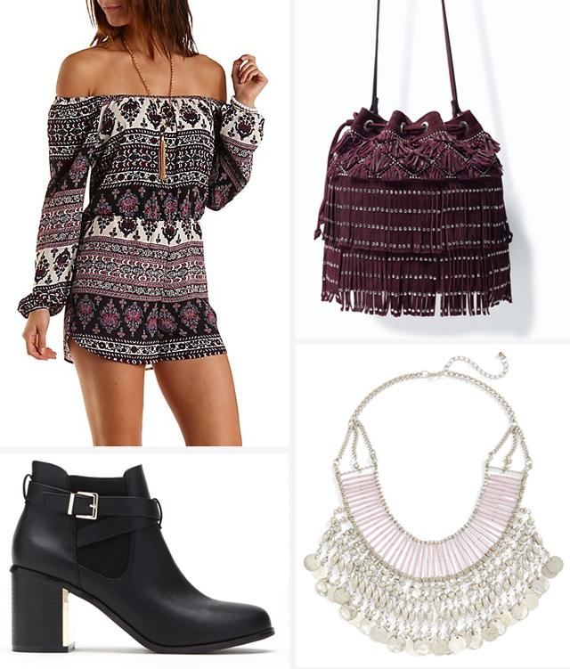 black-jumper-romper-print-burgundy-bag-black-shoe-booties-necklace-spring-summer-weekend.jpg