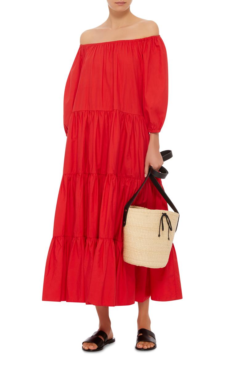 red-dress-midi-peasant-black-shoe-sandals-spring-summer-weekend.jpg