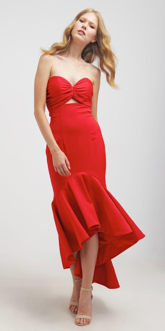red-dress-midi-strapless-tan-shoe-sandalh-spring-summer-blonde-dinner.jpg