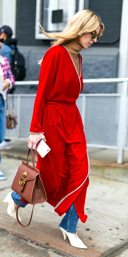 red-dress-midi-wrap-camel-sweater-turtleneck-blonde-cognac-bag-white-shoe-pumps-blue-med-skinny-jeans-layer-fall-winter-lunch.jpg