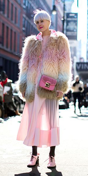 pink-light-dress-midi-black-tights-pink-shoe-booties-pink-bag-pink-light-jacket-coat-fur-fuzz-fall-winter-blonde-lunch.jpg