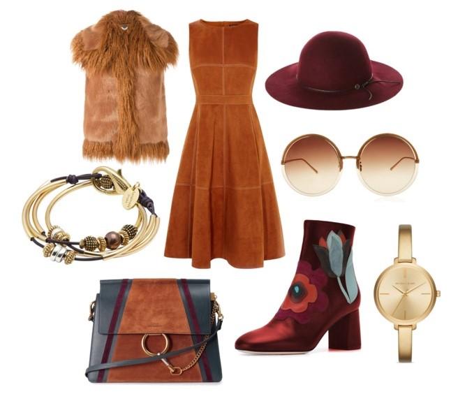 camel-dress-aline-midi-hat-sun-watch-camel-vest-fur-burgundy-shoe-booties-fall-winter-lunch.jpg