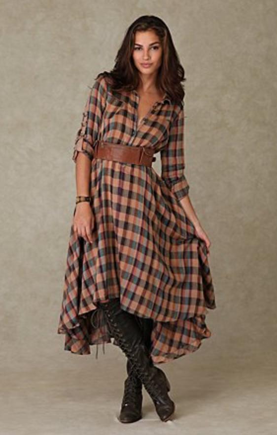 camel-dress-zprint-plaid-brown-shoe-boots-wide-belt-midi-wear-style-shirt-fall-winter-brunette-lunch.jpg