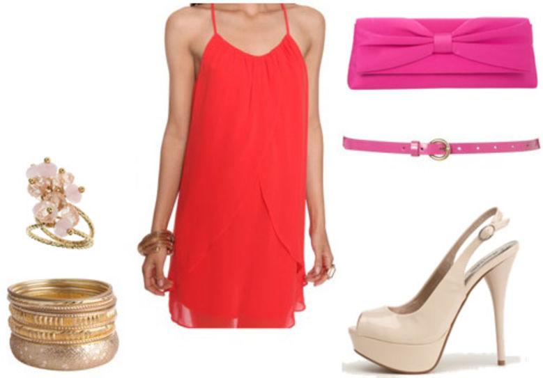 red-dress-tank-pink-bag-clutch-skinny-belt-bracelet-tan-shoe-pumps-howtowear-fashion-style-outfit-spring-summer-dinner.jpg