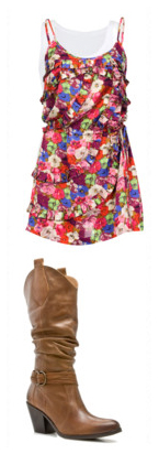 red-dress-tank-print-white-top-tank-cognac-shoe-boots-floral-howtowear-fashion-style-outfit-spring-summer-weekend.jpg