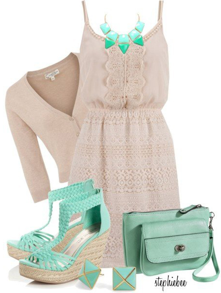 o-tan-dress-o-tan-cardigan-tank-green-bag-bib-necklace-green-shoe-sandalw-studs-howtowear-fashion-style-outfit-spring-summer-lunch.jpg