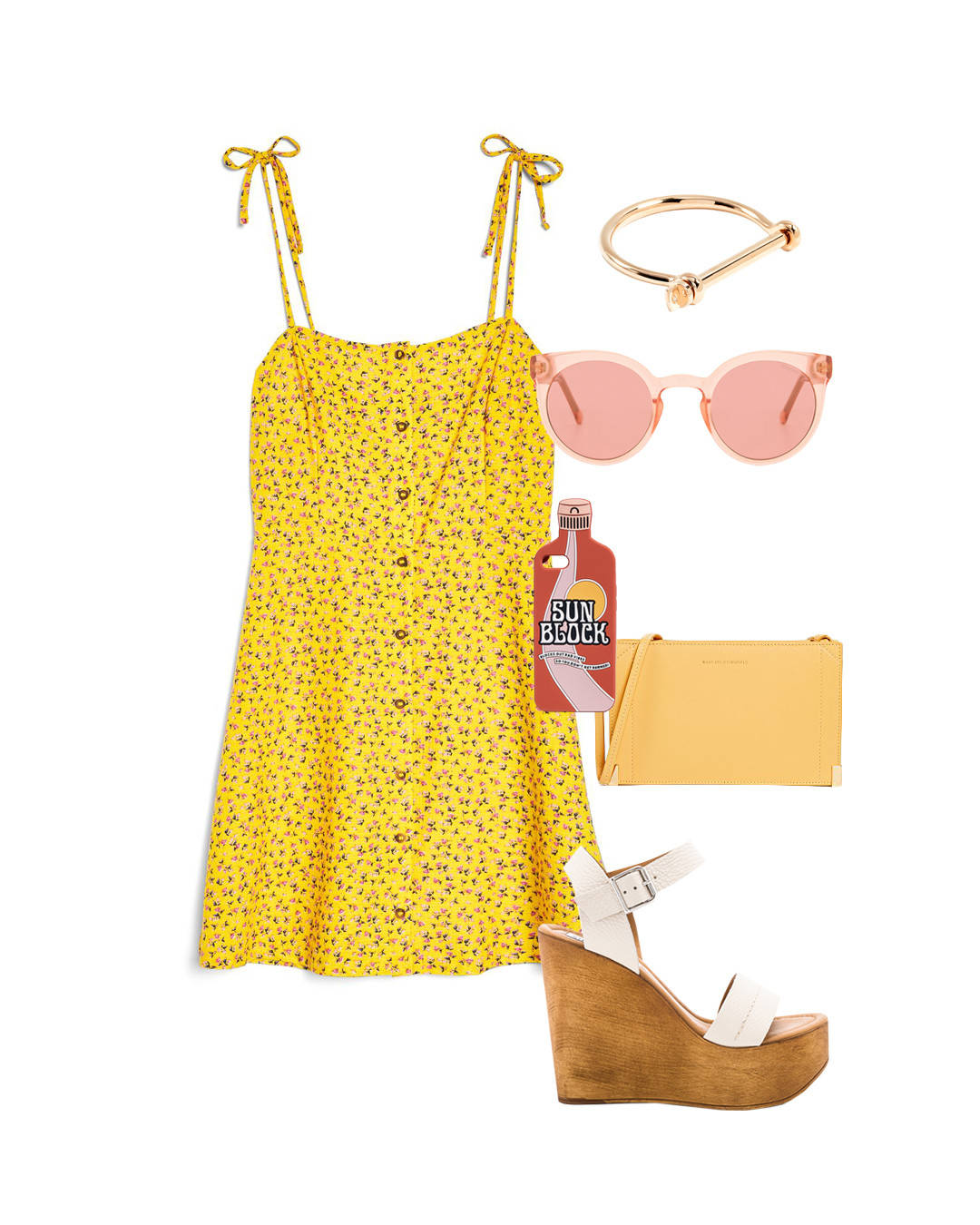 yellow-dress-tank-floral-print-white-shoe-sandalw-bracelet-yellow-bag-sun-spring-summer-weekend.jpg