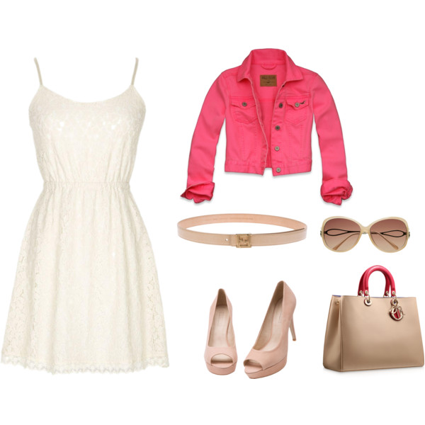 white-dress-r-pink-magenta-jacket-jean-tank-belt-sun-tan-shoe-pumps-tan-bag-howtowear-fashion-style-outfit-spring-summer-lunch.jpg