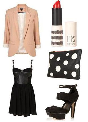 black-dress-o-peach-jacket-blazer-black-shoe-sandalh-black-bag-clutch-tank-fashion-style-outfit-spring-summer-mini-dinner.jpg