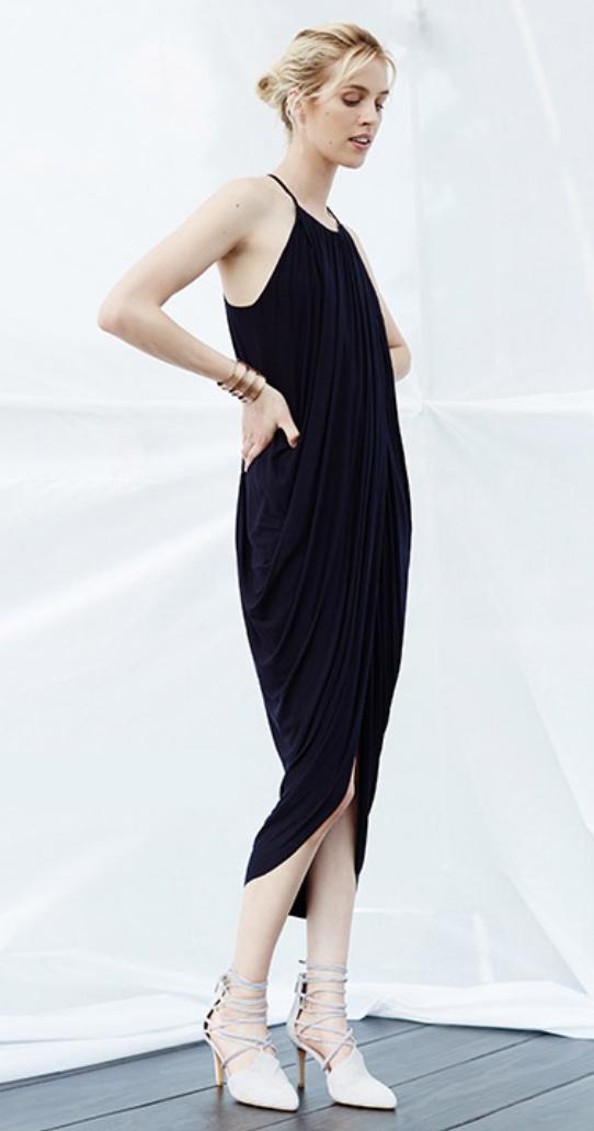black-dress-a-tank-white-shoe-pumps-bun-wear-midi-style-fashion-spring-summer-blonde-dinner.jpg
