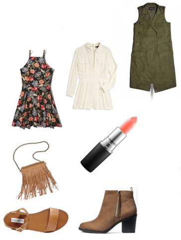 black-dress-zprint-floral-green-olive-vest-trench-tan-shoe-booties-tan-bag-tank-wear-style-fashion-spring-summer-floral-weekend.jpg