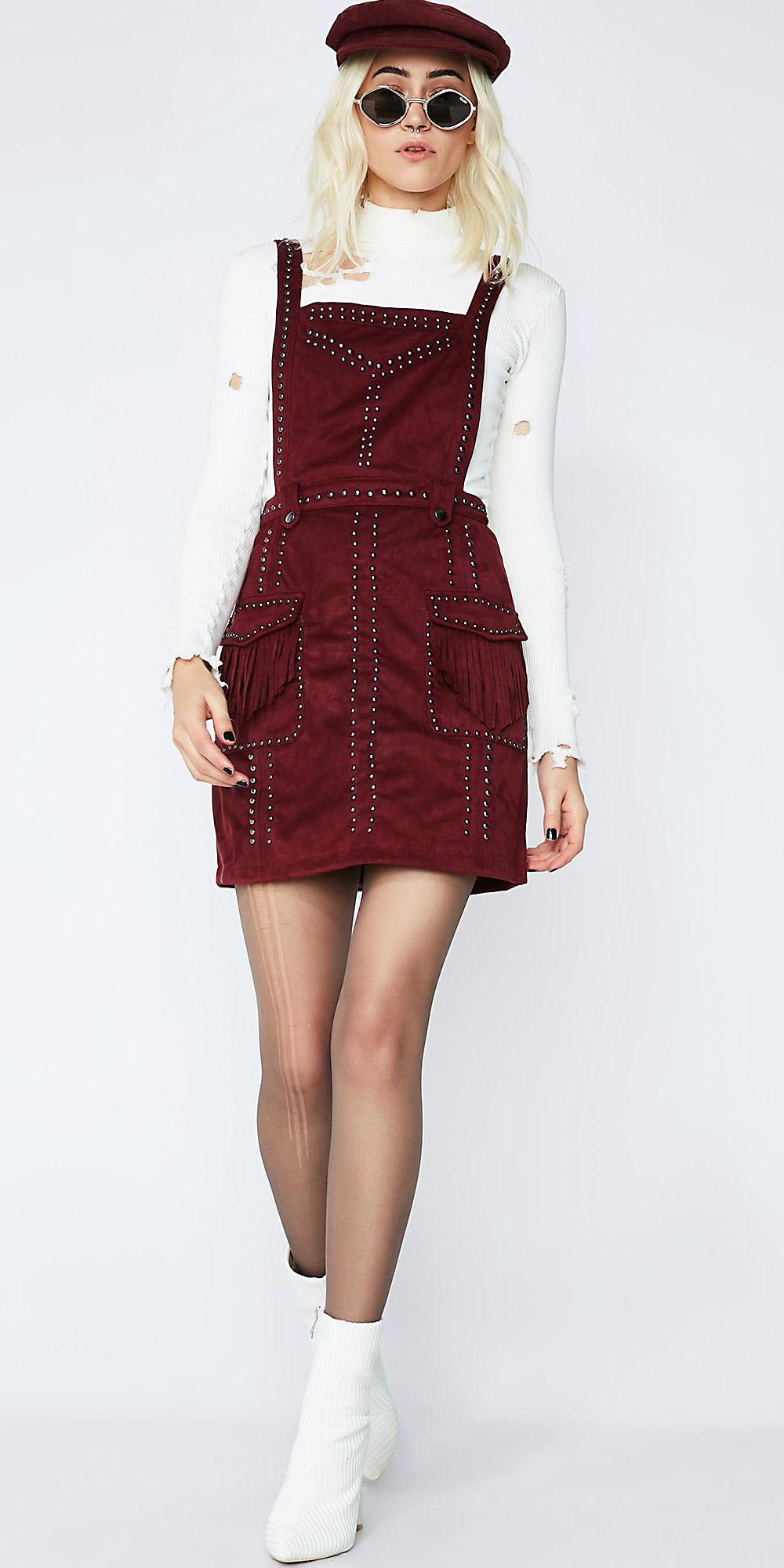 burgundy-dress-jumper-white-sweater-turtleneck-white-shoe-booties-blonde-lob-sun-hat-fall-winter-lunch.jpg