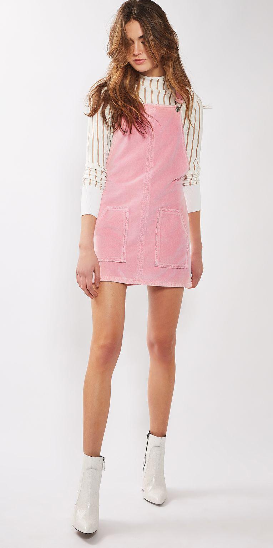pink-light-dress-jumper-white-top-hairr-white-shoe-booties-spring-summer-lunch.jpg