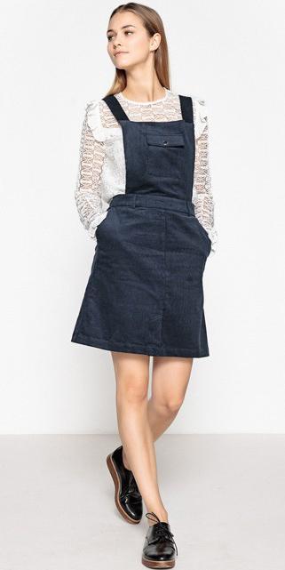 blue-navy-dress-jumper-white-top-blouse-hairr-black-shoe-brogues-fall-winter-weekend.jpg