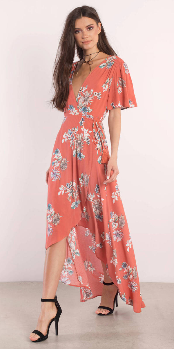 orange-dress-floral-print-wrap-choker-brun-black-shoe-sandalh-spring-summer-dinner.jpg