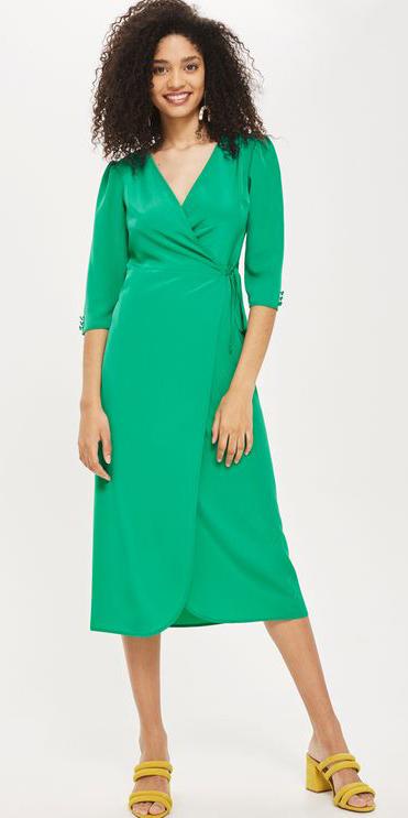 green-emerald-dress-wrap-earrings-yellow-shoe-sandalh-brun-spring-summer-lunch.jpg