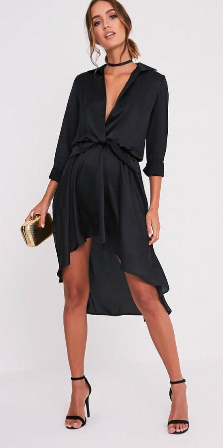 black-dress-wrap-black-shoe-sandalh-choker-hairr-bun-spring-summer-dinner.jpg