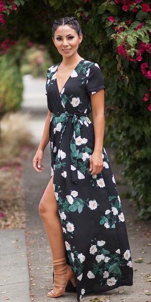 black-dress-maxi-floral-print-braid-wrap-tan-shoe-sandalh-spring-summer-brun-dinner.jpg