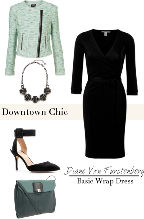 black-dress-green-light-jacket-crop-black-shoe-pumps-green-bag-wrap-wear-style-fashion-spring-summer-bib-necklace-office-work.jpg