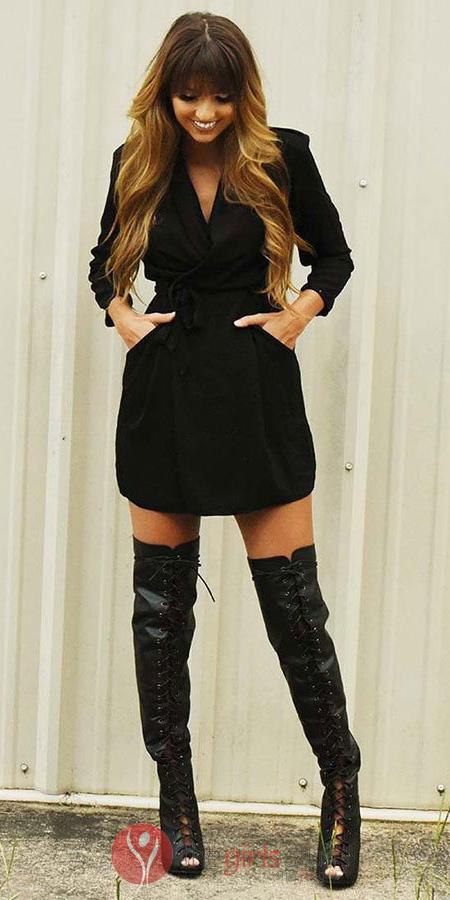 black-dress-wrap-black-shoe-boots-otk-hairr-spring-summer-dinner.jpg