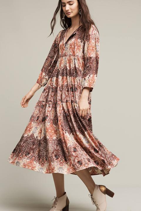 peach-dress-peasant-midi-print-earrings-brun-white-shoe-booties-howtowear-fashion-fall-winter-lunch.jpg