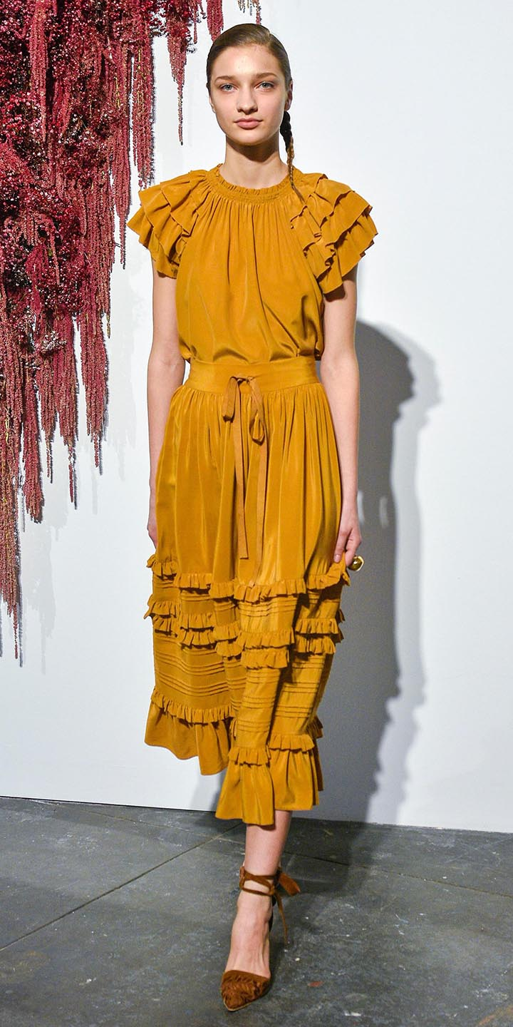 yellow-dress-peasant-midi-braid-blonde-cognac-shoe-pumps-howtowear-fashion-fall-winter-dinner.jpg