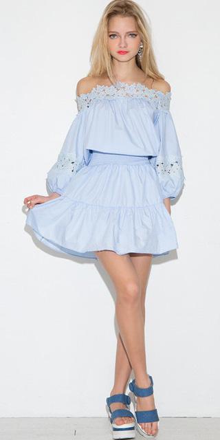 blue-light-dress-peasant-blue-shoe-sandalw-blonde-offshoulder-tonal-earrings-spring-summer-lunch.jpg