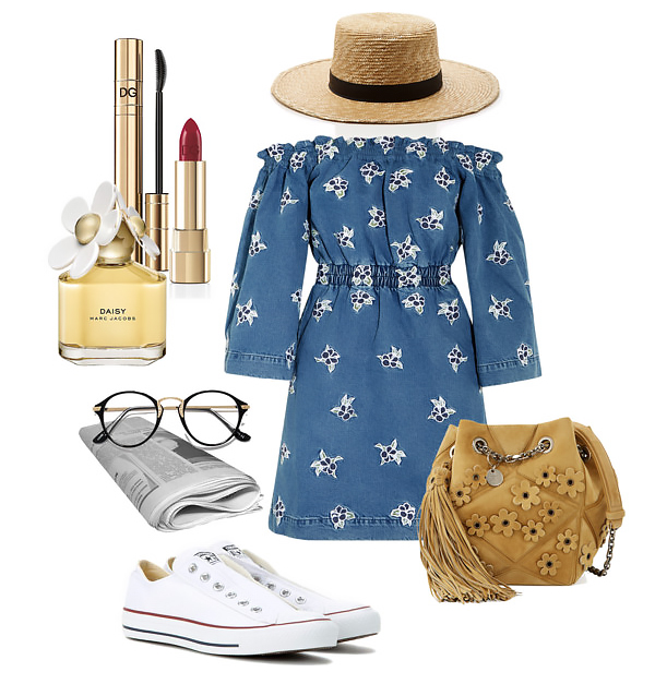blue-med-dress-mini-offshoulder-hat-panama-tan-bag-white-shoe-sneakers-peasant-fashion-style-outfit-spring-summer-weekend.jpg