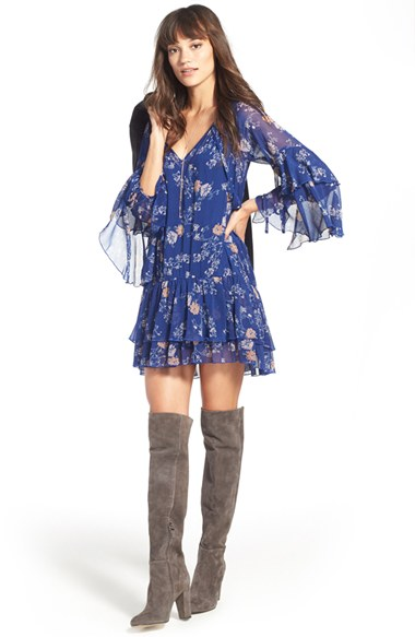 blue-med-dress-zprint-floral-gray-shoe-boots-necklace-peasant-wear-style-fashion-spring-summer-brunette-dinner.jpg