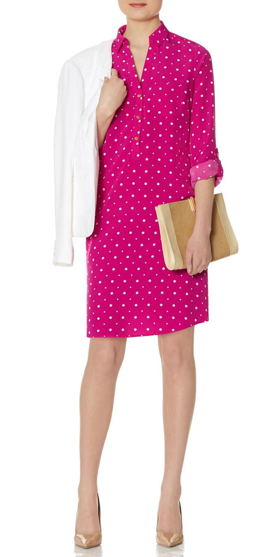 pink-magenta-dress-shirt-tan-shoe-pumps-tan-bag-clutch-print-white-jacket-blazer-spring-summer-work.jpg