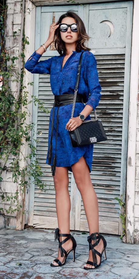 blue-navy-dress-shirt-brun-sun-wide-belt-black-bag-black-shoe-sandalh-watch-spring-summer-dinner.jpg